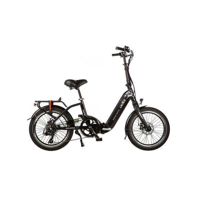 Elektrisches Faltrad Lacros Canter C200 - Matt Schwarz