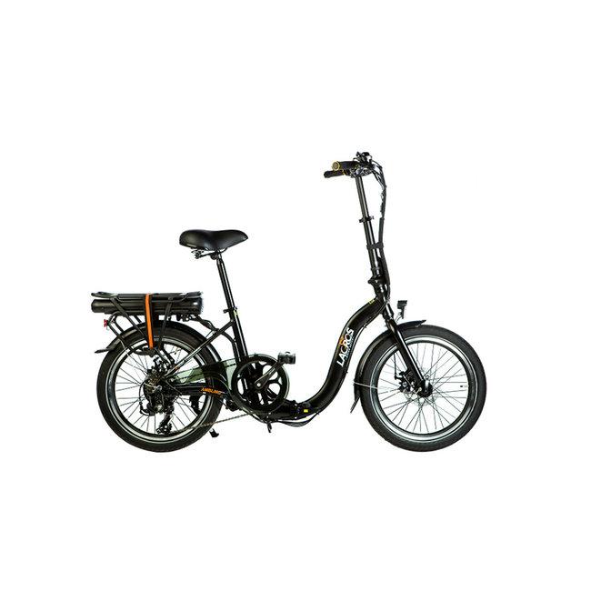 Elektrisches Faltrad Lacros Ambling A200 - Matt Schwarz