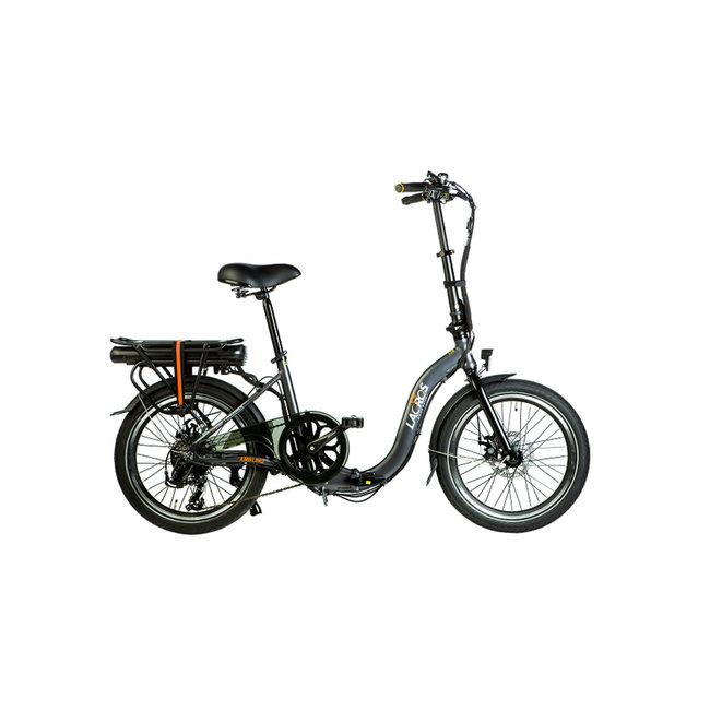 Electric folding bike Lacros Ambling A200 - Matt Gray