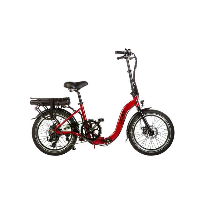 Electric folding bike Lacros Ambling A200 - Matt Red