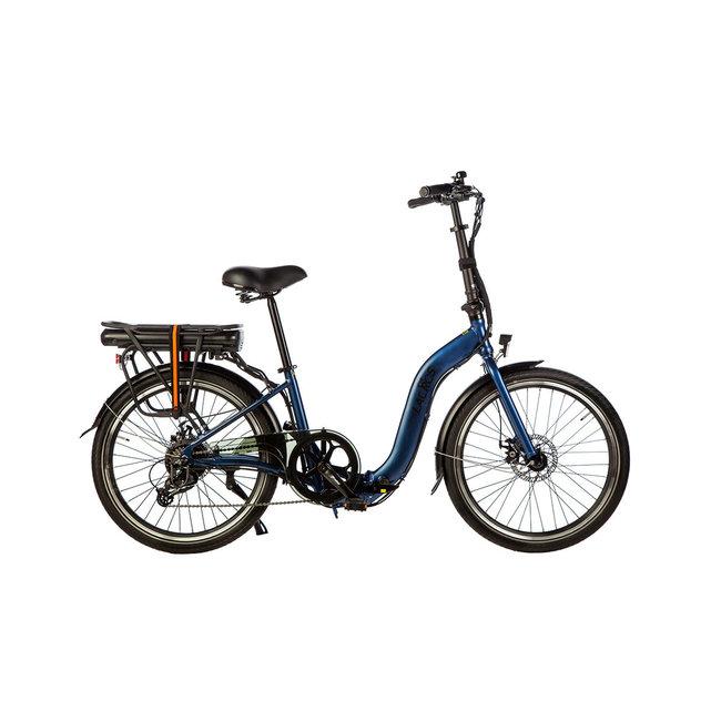 Electric folding bike Lacros Ambling A200XL - Matt Blue