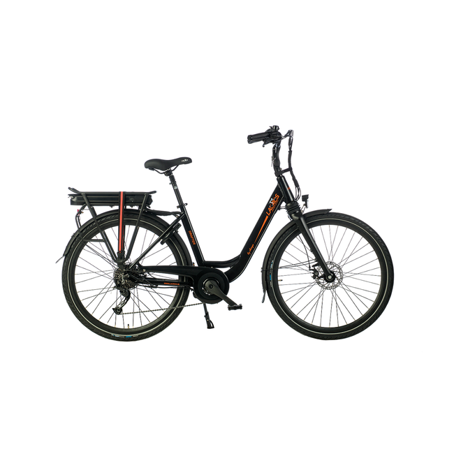 Electric bike Lacros Drafter - Matt Black