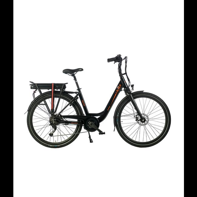 Elektrische fiets Lacros Drafter - Matzwart