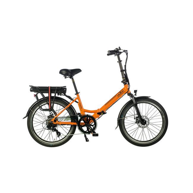 Electric folding bike Lacros Scamper S200XL - Matt Orange