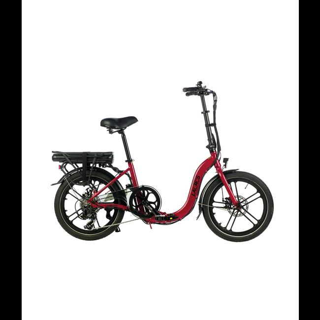 Vélo pliant électrique Lacros Ambling A400 - Rouge Mat
