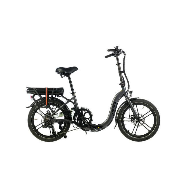 Electric folding bike Lacros Ambling A400 – Matt Gray