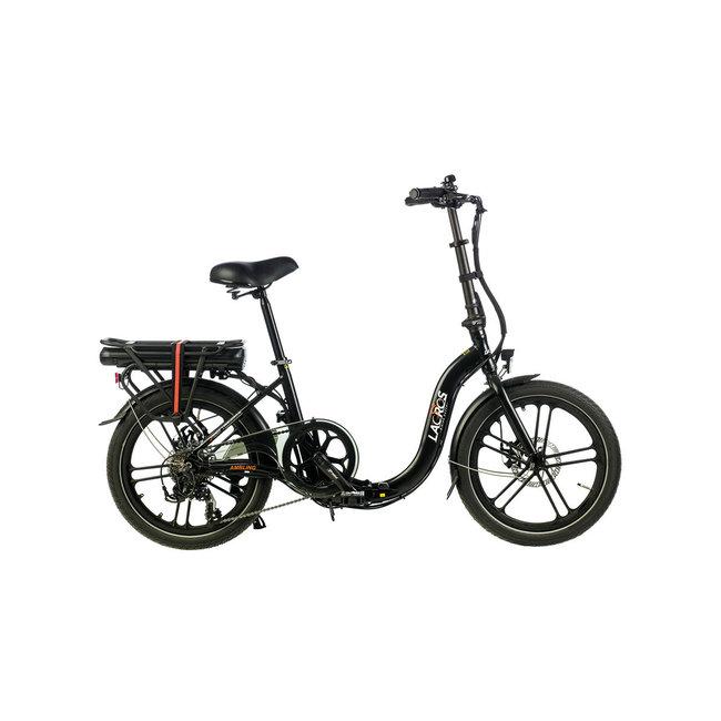 Elektrisches Faltrad Lacros Ambling A400 - Matt Schwarz