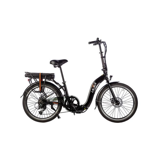 Electric folding bike Lacros Ambling A200XL - Matt Black