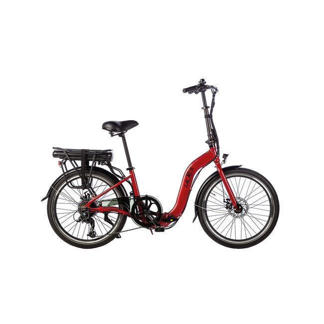 Electric folding bike Lacros Ambling A200XL - Matt Red