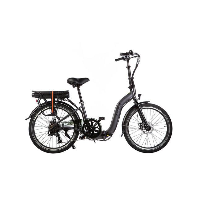 Electric folding bike Lacros Ambling A200XL - Matt Gray