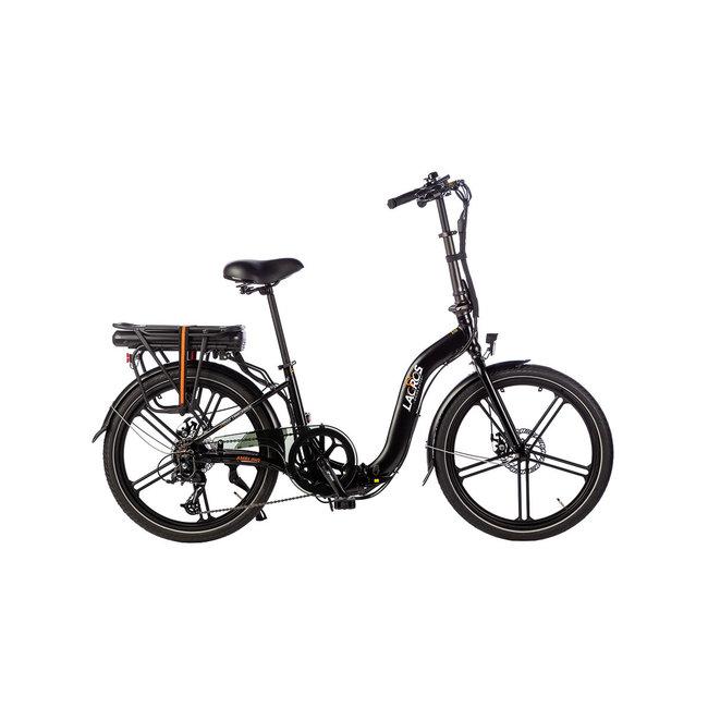 Vélo pliant électrique Lacros Ambling A400XL - Noir Mat
