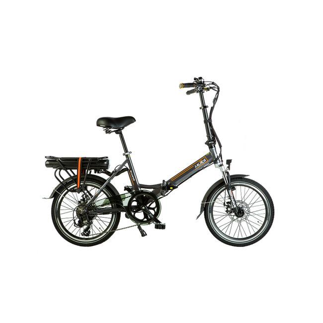 Electric folding bike Lacros Scamper S200 - Matt Gray