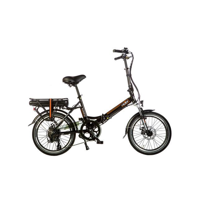 Elektrisches Faltrad Lacros Scamper S200 - Matt Schwarz