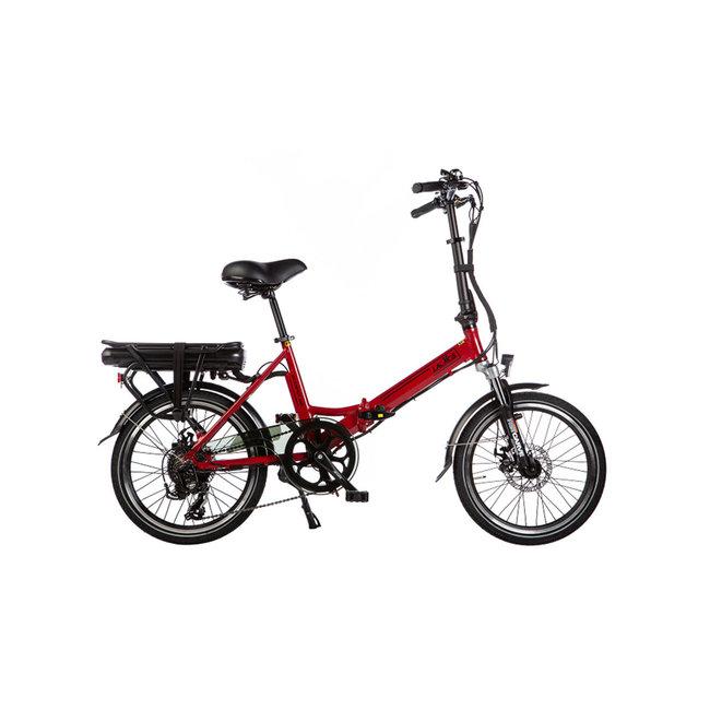 Elektrisches Faltrad Lacros Scamper S200 - Matt Rot