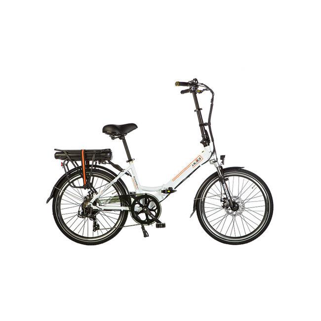 Electric folding bike Lacros Scamper S200XL - Matt White