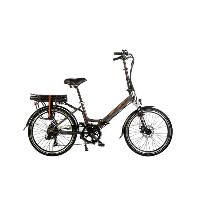 Electric folding bike Lacros Scamper S200XL - Matt Gray