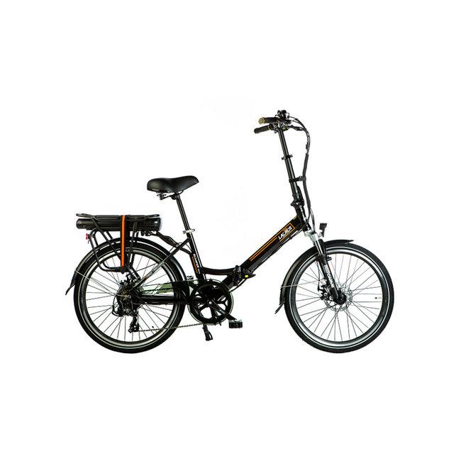 Elektrisches Faltrad Lacros Scamper S200XL - Matt Schwarz