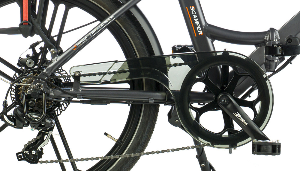 electric foldig bike