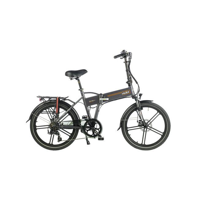 Electric folding bike Lacros Trotter T400XL - Matt Gray