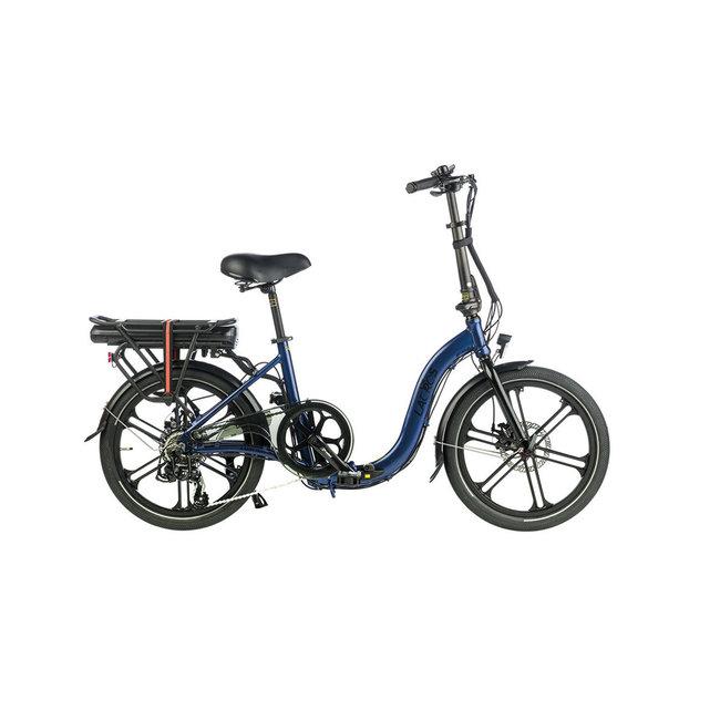 Electric folding bike Ambling A400 – Matt Blue