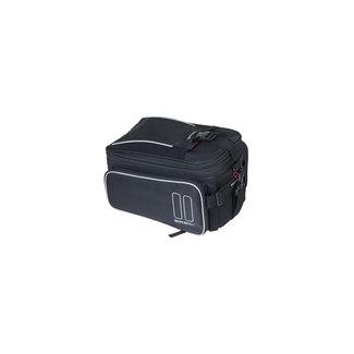 Basil Sport toptas 7-15 liter zwart + adapterplaat Mik