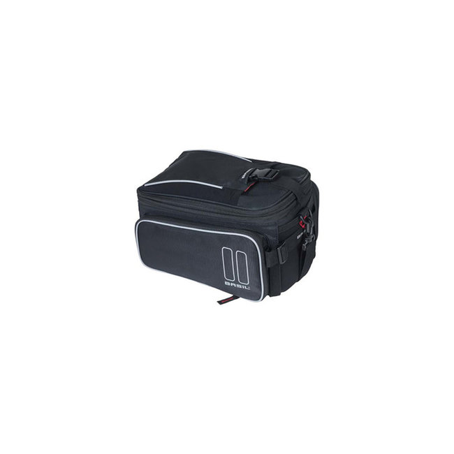 Basil Sport Top Bag 7-15 Liter schwarz + Adapter Mik