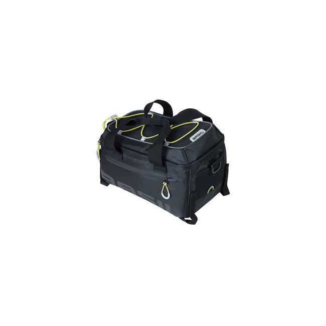Basil Miles top bag étanche 7 litres noir + adaptateur système MIK