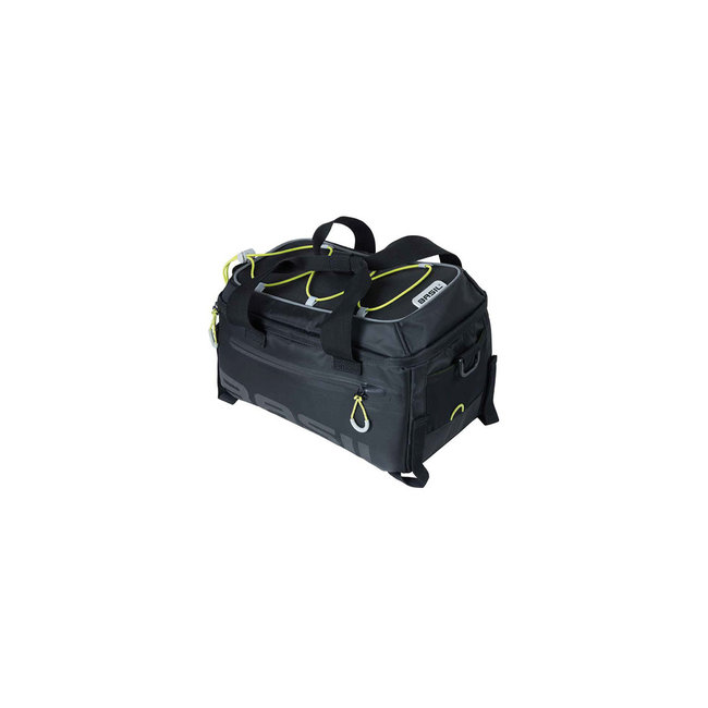 Basil Miles waterproof top bag 7 liters black + adapter MIK system