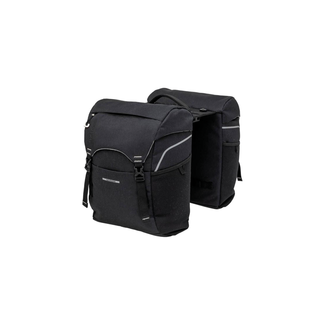 New Looxs Sports double bicycle bag 32L black + adapter MIK