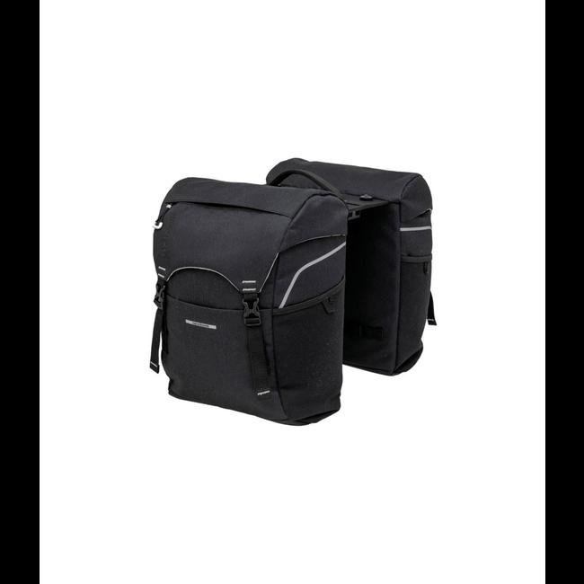 New Looxs Sports Doppelfahrradtasche 32 Liter schwarz mit Adapterplatte MIK System
