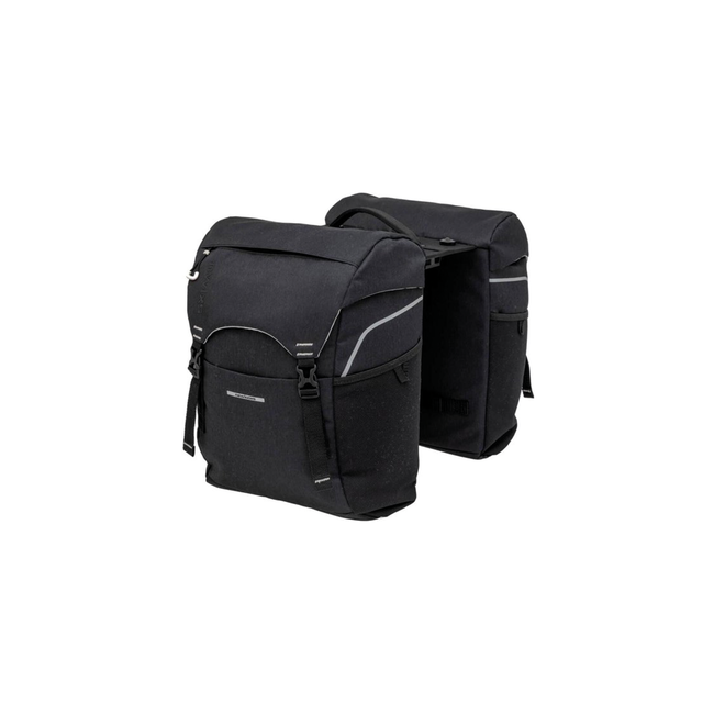 New Looxs Sports double bicycle bag 32 liters black with adapter plate MIK system