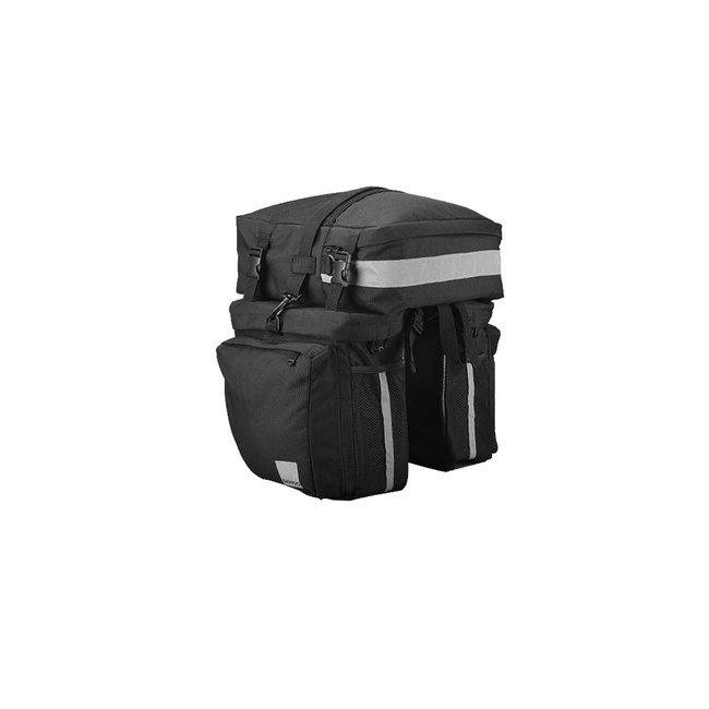 Sahoo 3-In-1 Triple Pannier Bag 37liters