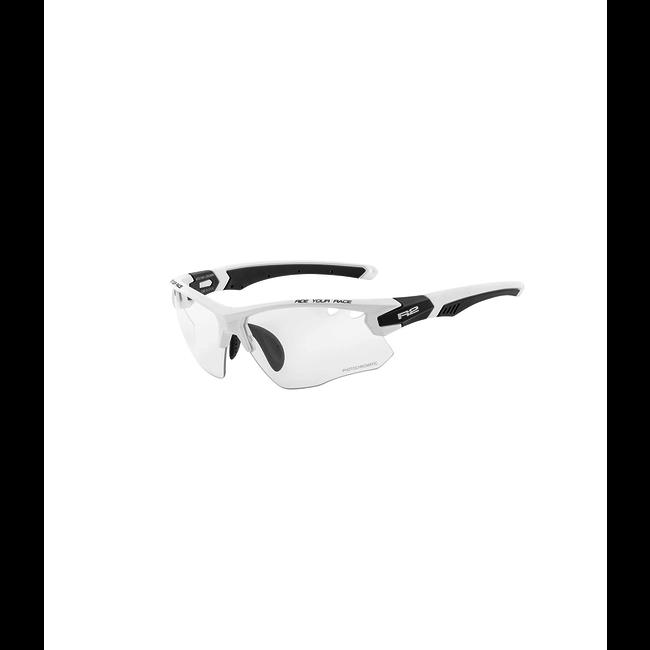 R2 Crown Sport zonnebril wit/zwart