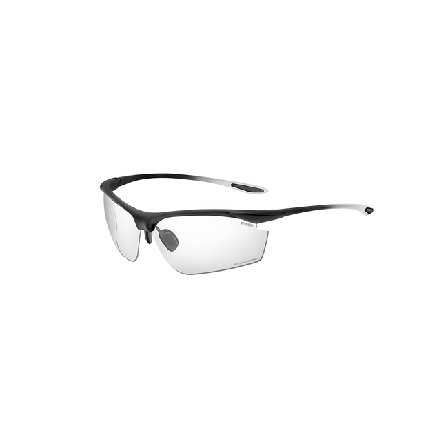 R2 Peak Sport Sonnenbrille schwarz/weiß