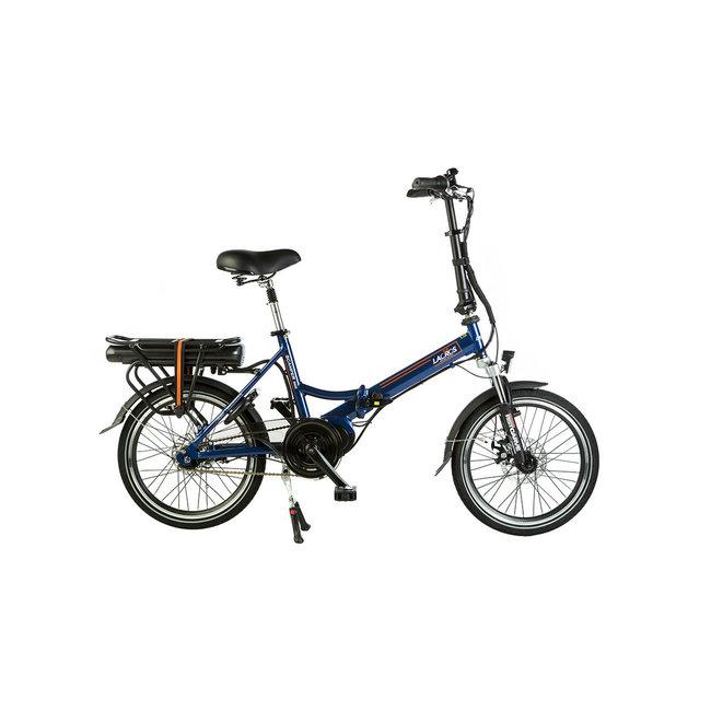 Elektrisches Faltrad Lacros Scamper S600 - Matt Blau Mittelmotor
