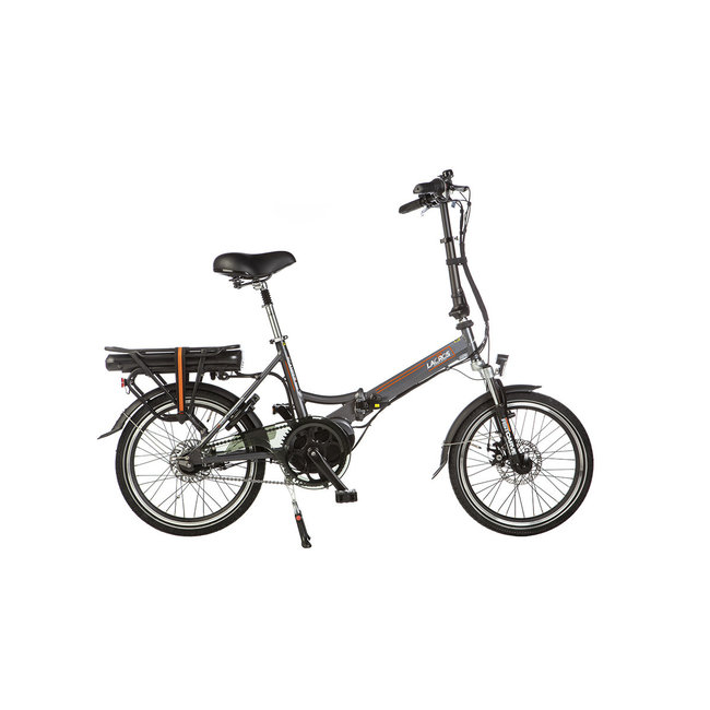 Electric folding bike Lacros Scamper S600 - Matt Gray Midmotor