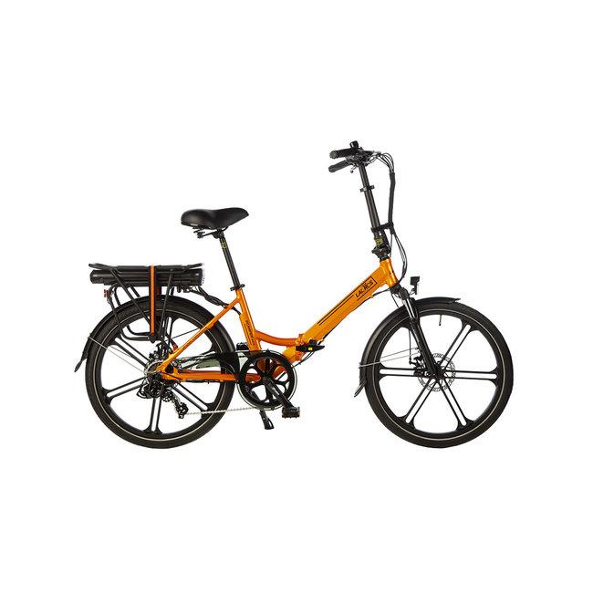 Electric folding bike Scamper S400XL - Matt Orange