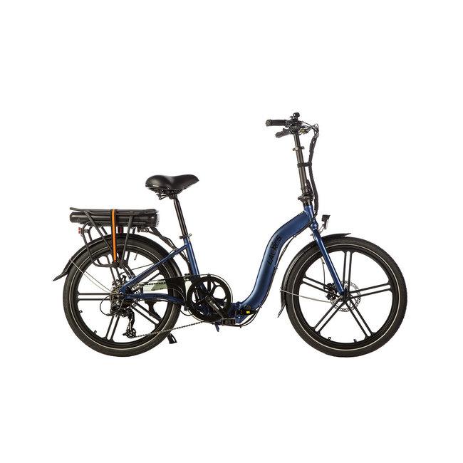 Elektrisches Faltrad Ambling A400XL - Matt Blau