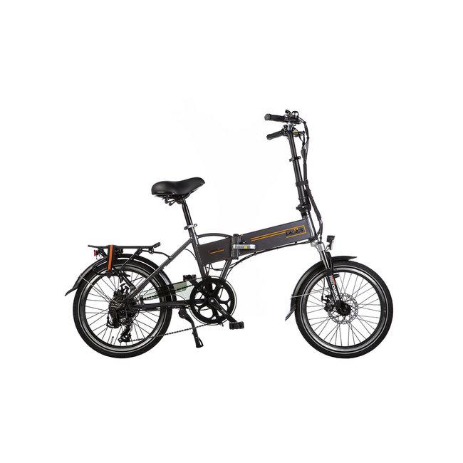 Electric folding bike Lacros Trotter T200 – Matt Gray