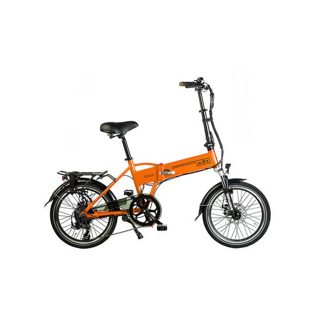 Electric folding bike Lacros Trotter T200 – Matt Orange