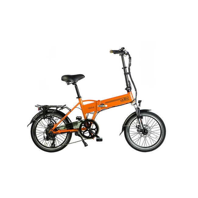 Elektrische vouwfiets Lacros Trotter T200 - Mat Oranje