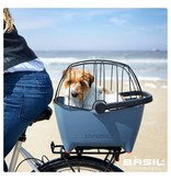 Basil hondenmand Buddy faded denim