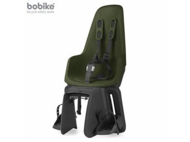Bobike One maxi  achterzitje met frame en dragerbevestiging