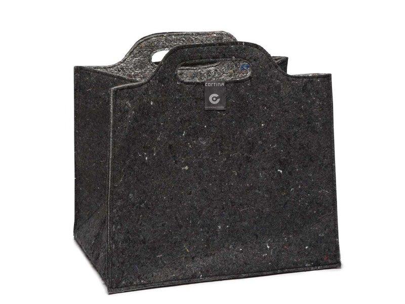 Cortina Cort Berlin Foldable Crate black