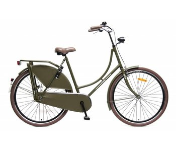 Popal Omafiets 28 inch Damesfietsen Army-green