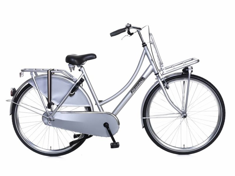 Popal Daily Dutch 28 inch Damesfietsen Zilver