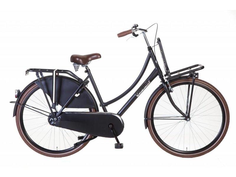 Popal Daily Dutch 28 inch Damesfietsen Mat-zwart