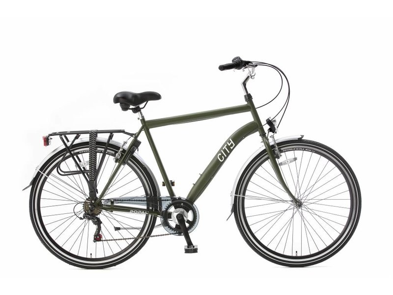 Popal City 28 inch Herenfietsen Army-green