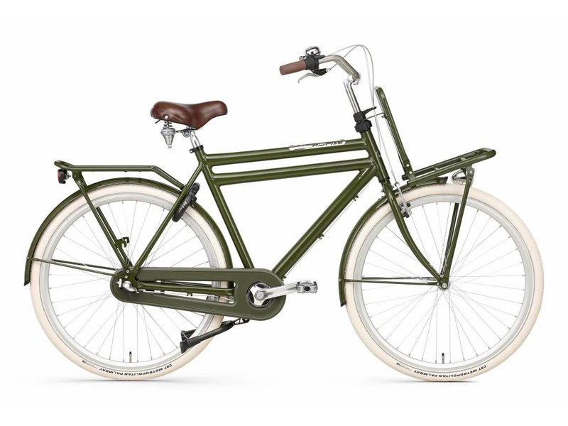 Popal Daily Dutch 28 inch Herenfietsen Groen