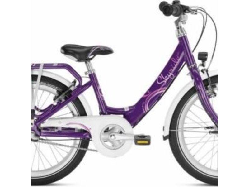 Puky Kinderfiets Skyride 20 inch Aluminium Light Paars 3 versnellingen